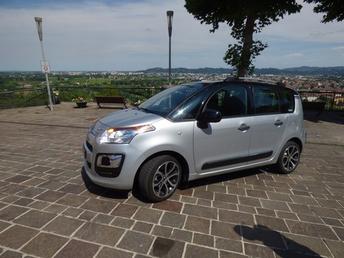 Citroën C3Picasso 1.6 BlueHDi 100 Exclusive Cinema provata su strada