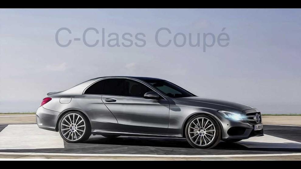 Mercedes Classe C Coupè in veste (quasi) definitiva - Foto 1 di 3