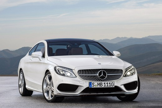 Mercedes Classe C Coupè in veste (quasi) definitiva
