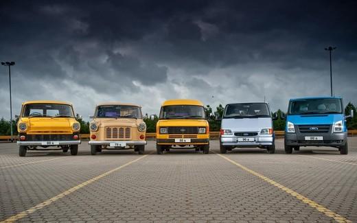 Ford Transit, il veicolo commerciale compie 50 anni