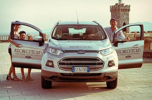 Ford EcoSport Tour, il viaggio diventa social