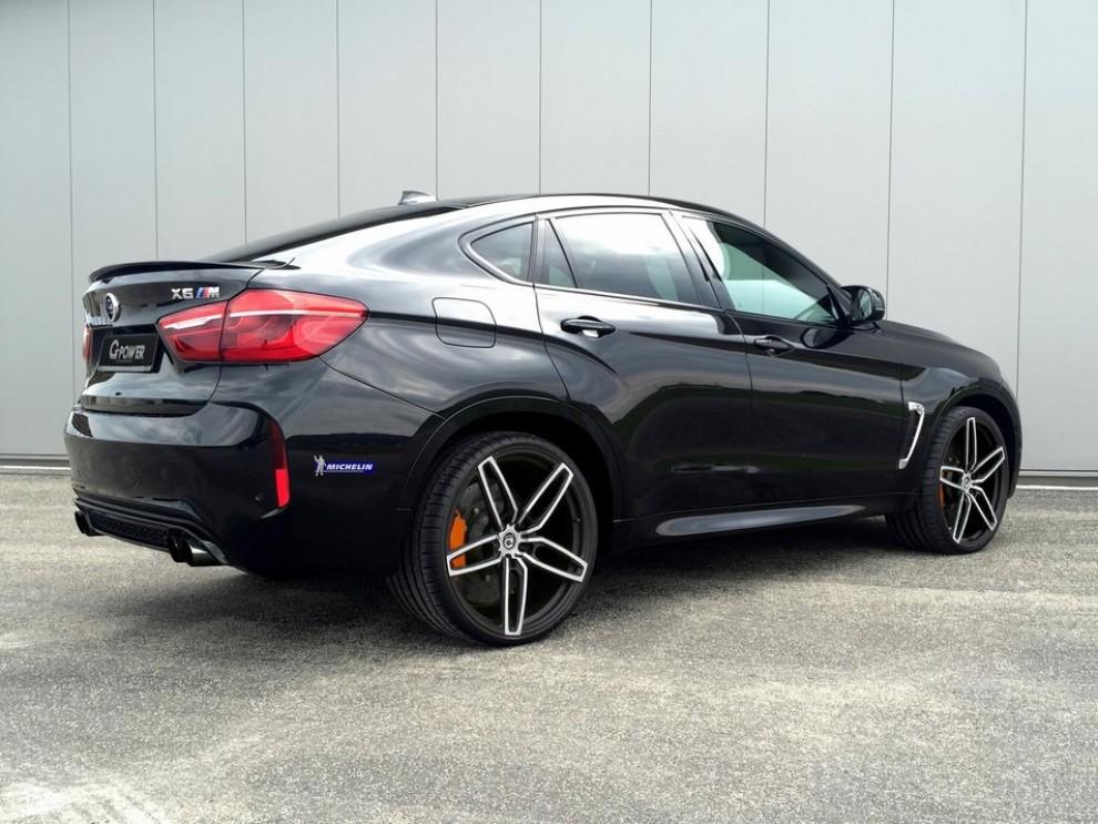 BMW X6 M a 300 km/h grazie a G-Power - Foto 5 di 5