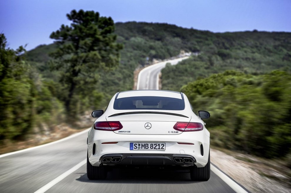 Mercedes C Coupè AMG, video e foto - Foto 21 di 27