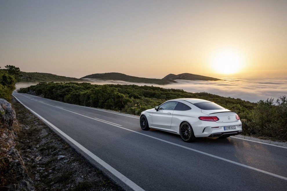 Mercedes C Coupè AMG, video e foto - Foto 23 di 27