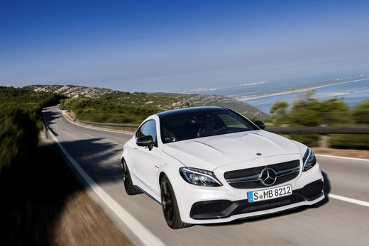 Mercedes C Coupè AMG, video e foto