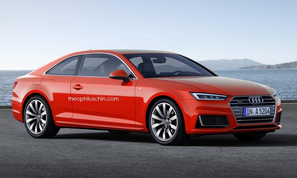 Nuova Audi A5, il primo rendering - Foto 1 di 2