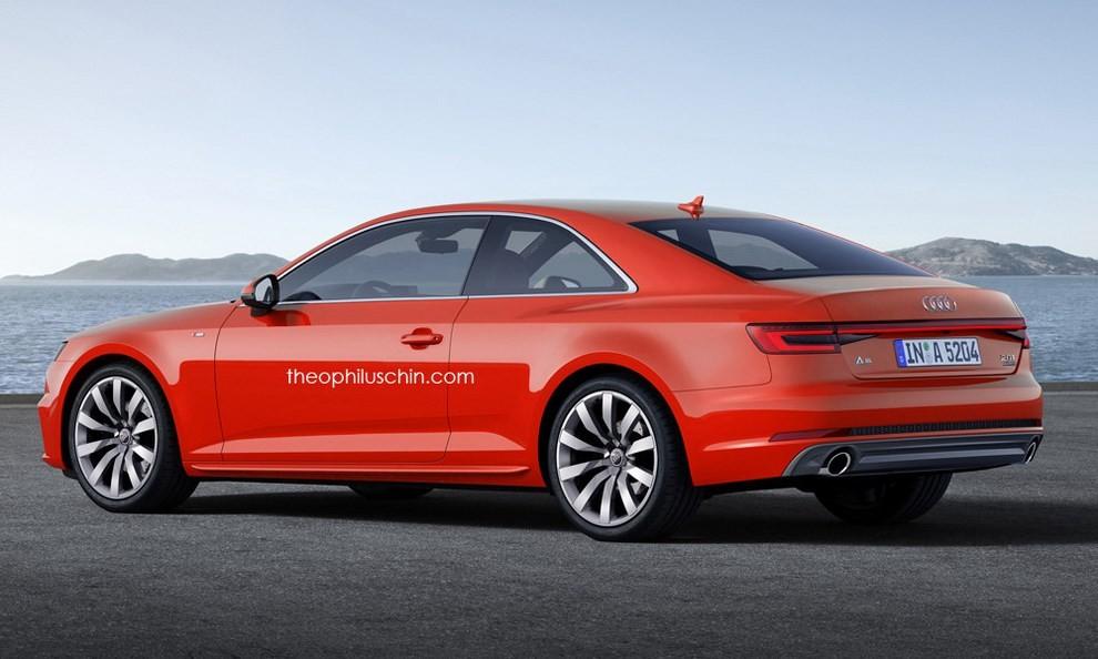Nuova Audi A5, il primo rendering - Foto 2 di 2