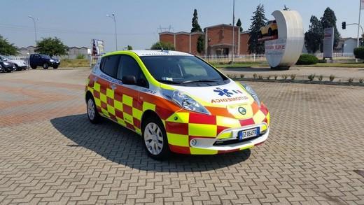 Nissan Leaf per il trasporto medico a zero emissioni