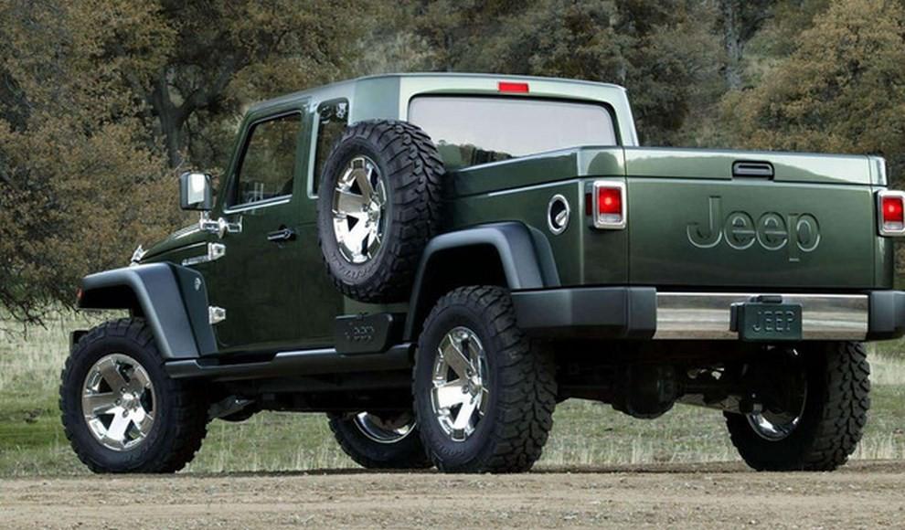 Jeep Wrangler pick-up, arriva nel 2018? - Foto 1 di 4