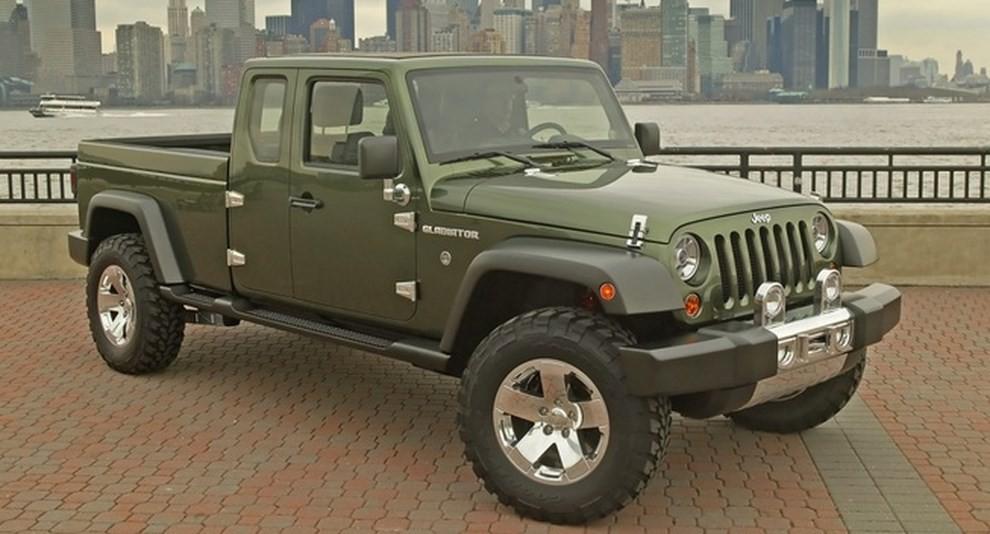 Jeep Wrangler pick-up, arriva nel 2018? - Foto 3 di 4