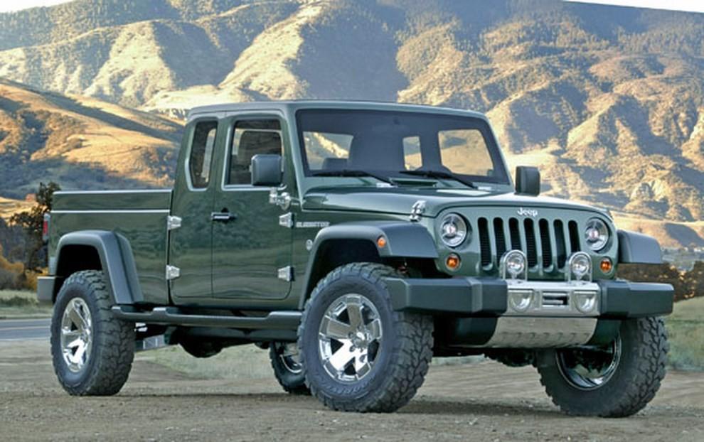 Jeep Wrangler pick-up, arriva nel 2018? - Foto 4 di 4