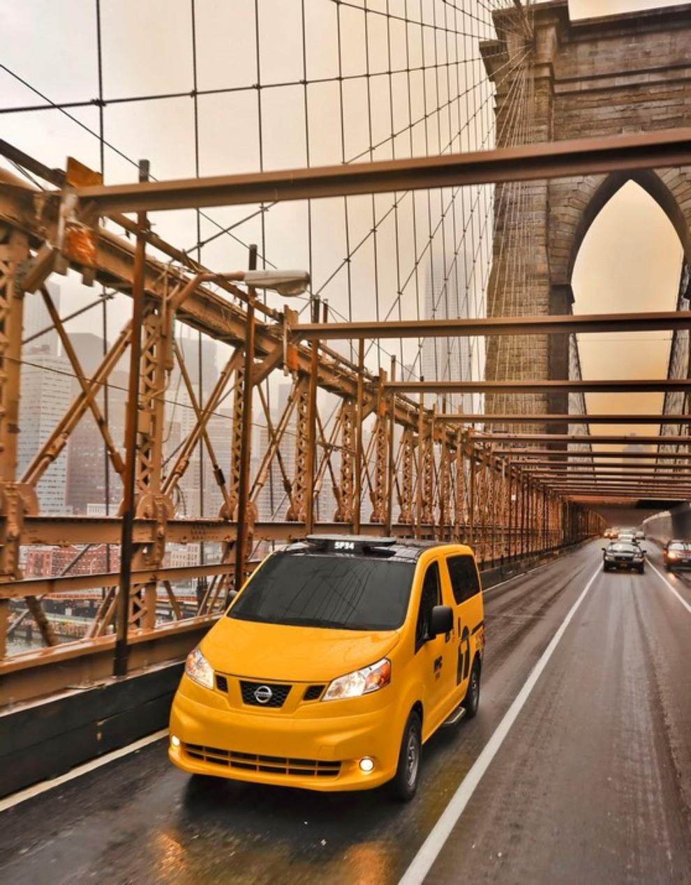 Nissan NV200 è il nuovo taxi di New York - Foto 14 di 28