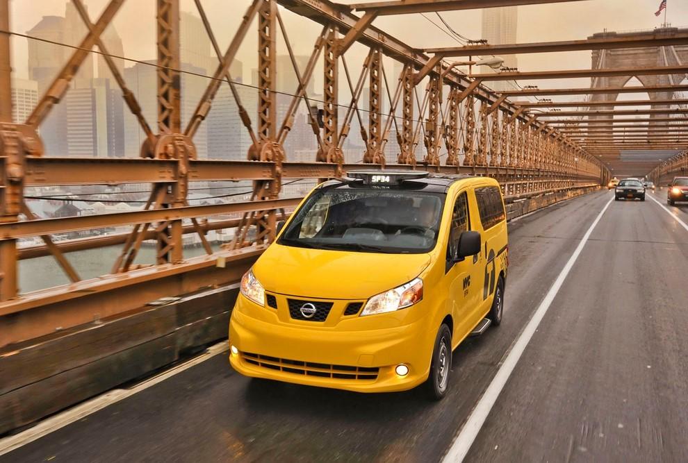 Nissan NV200 è il nuovo taxi di New York - Foto 15 di 28