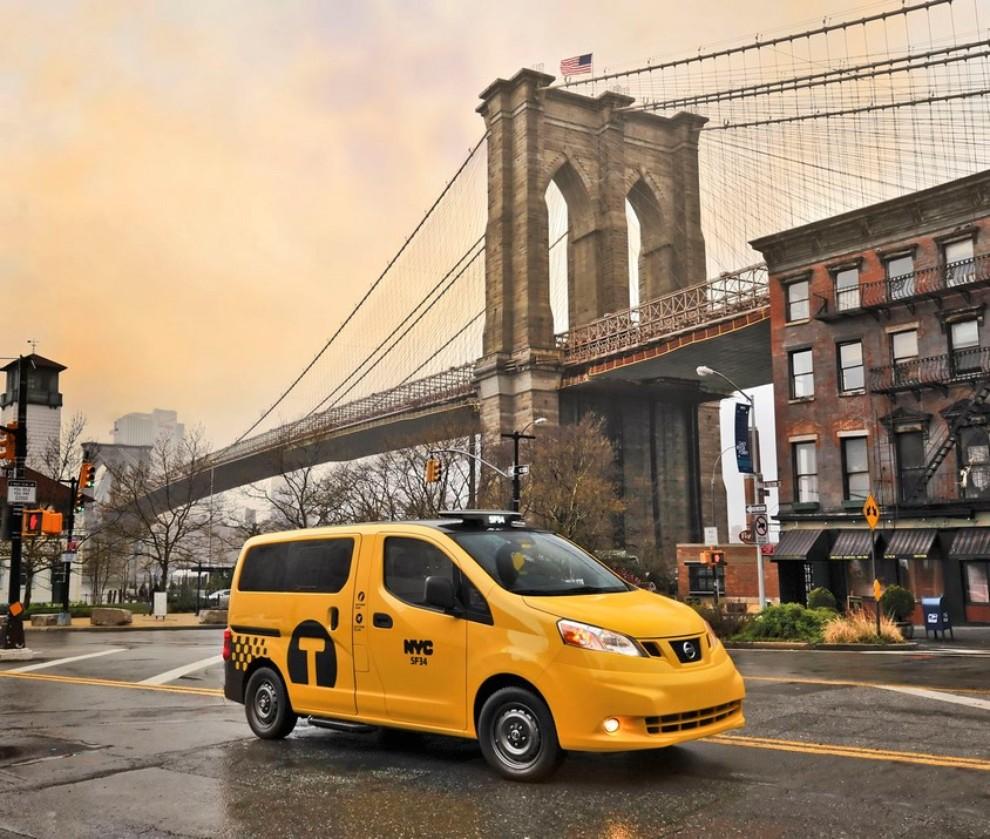 Nissan NV200 è il nuovo taxi di New York - Foto 17 di 28