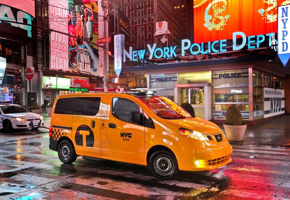 Nissan NV200 è il nuovo taxi di New York - Foto 1 di 28