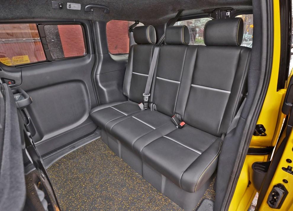Nissan NV200 è il nuovo taxi di New York - Foto 21 di 28