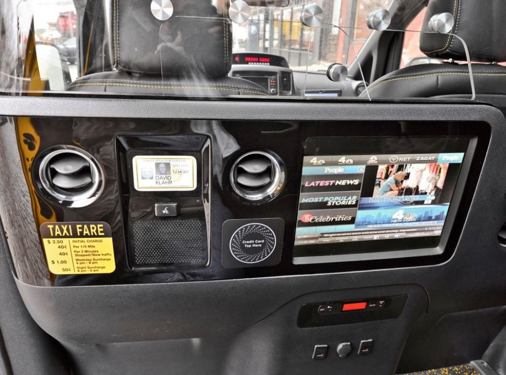 Nissan NV200 è il nuovo taxi di New York - Foto 22 di 28