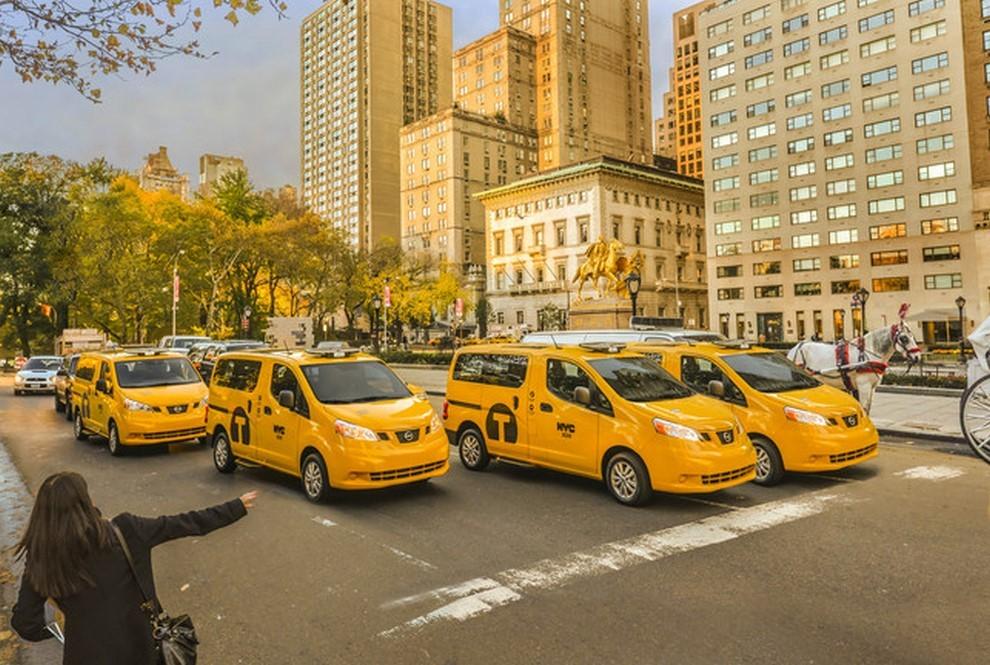 Nissan NV200 è il nuovo taxi di New York - Foto 28 di 28
