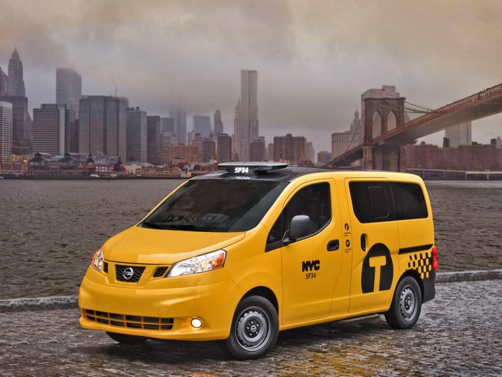 Nissan NV200 è il nuovo taxi di New York - Foto 2 di 28