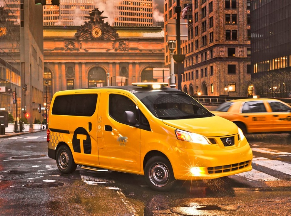 Nissan NV200 è il nuovo taxi di New York - Foto 3 di 28
