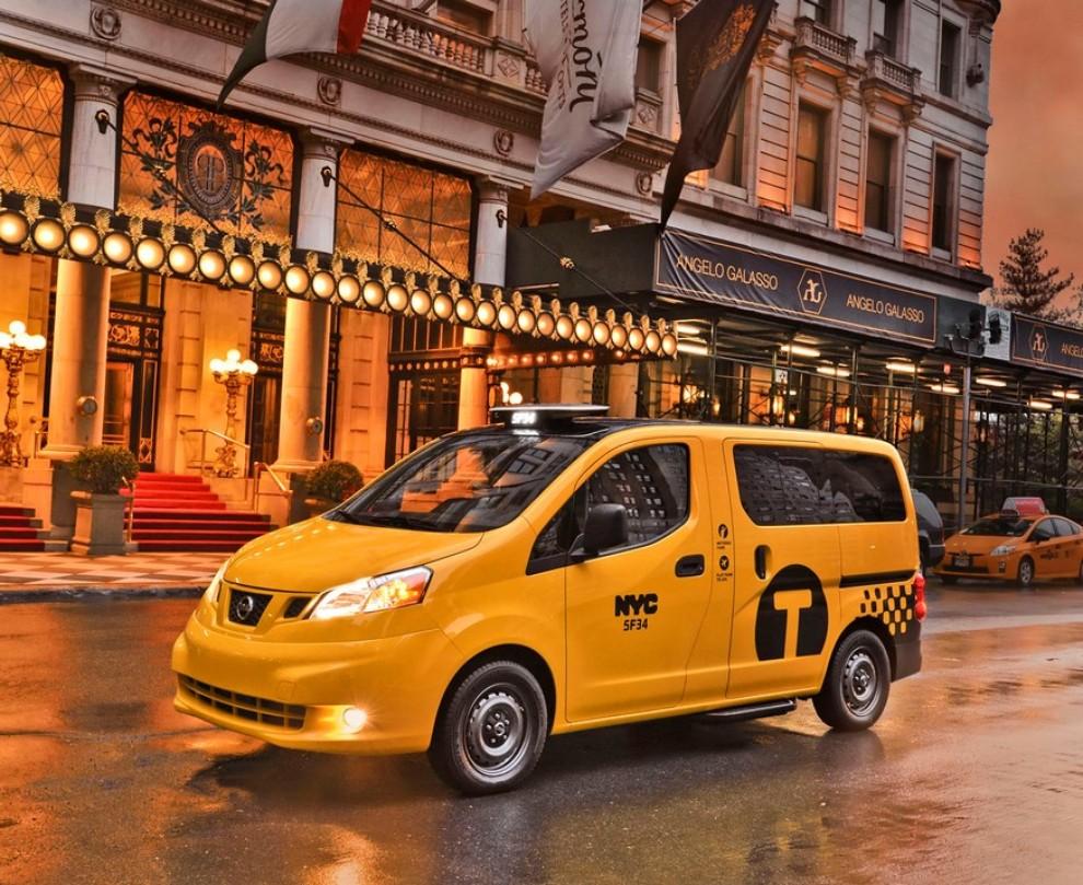 Nissan NV200 è il nuovo taxi di New York - Foto 4 di 28