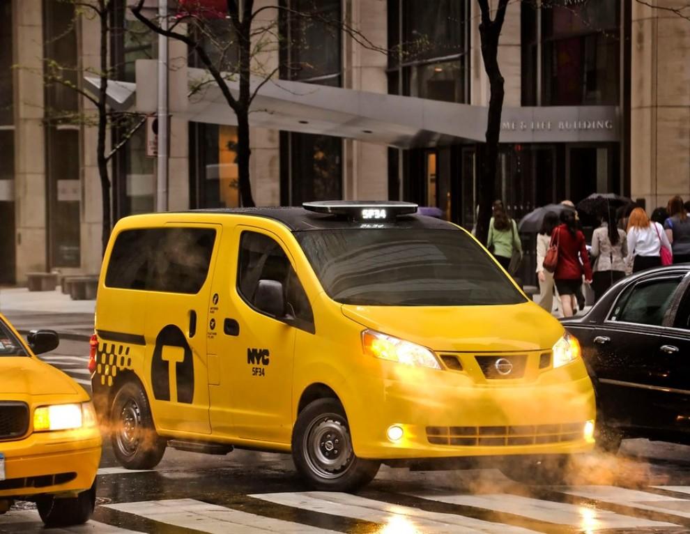 Nissan NV200 è il nuovo taxi di New York - Foto 9 di 28