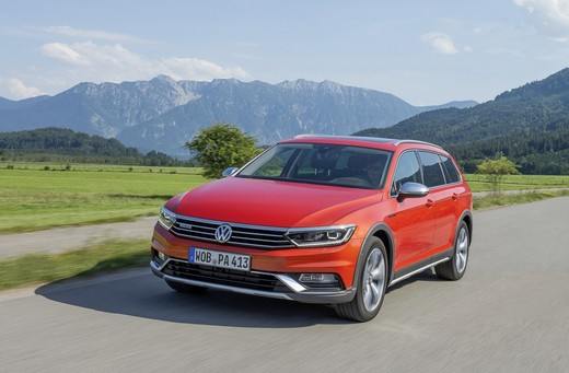 Nuova Volkswagen Passat Alltrack foto ed informazioni ufficiali