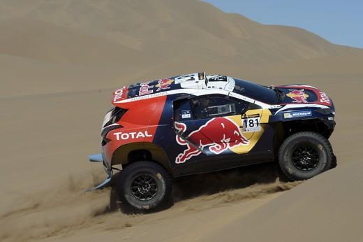China Silk Rally, 2008 DKR vs dune giganti
