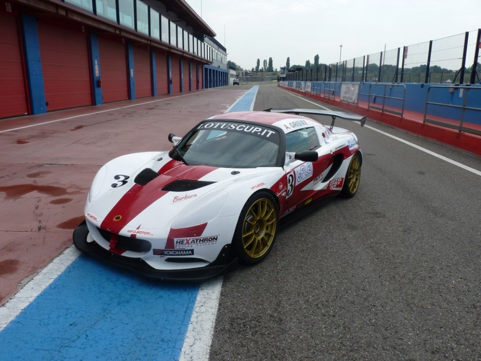 Lotus Elise Cup con Tommy Maino - Foto 14 di 31