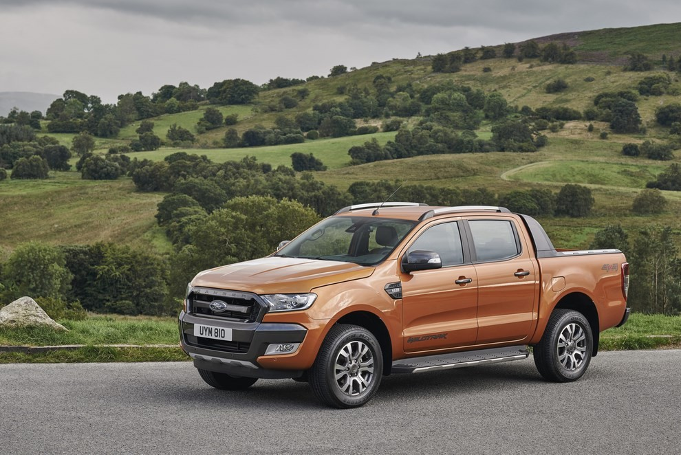 Ford Ranger, il pick-up si rifà il look - Foto 13 di 18