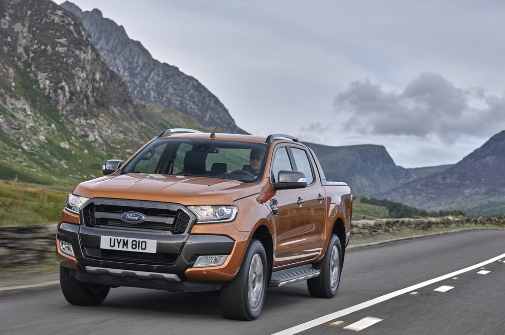Ford Ranger, il pick-up si rifà il look - Foto 16 di 18