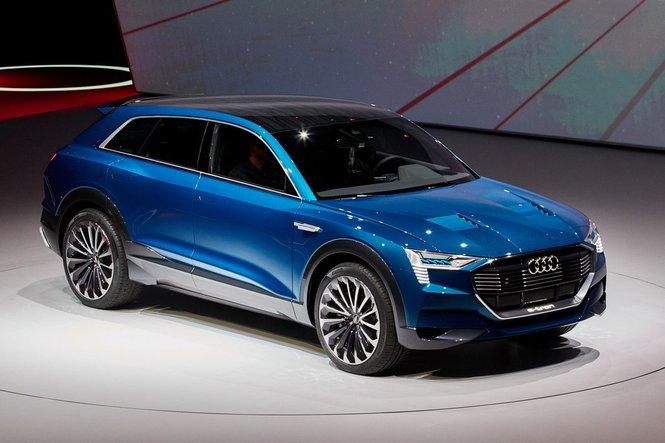 Audi Q6, la concept e-tron per Francoforte