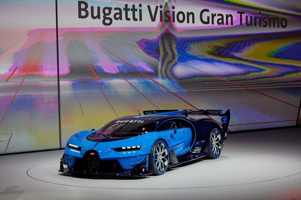 Bugatti Vision Gran Turismo - Foto 11 di 31