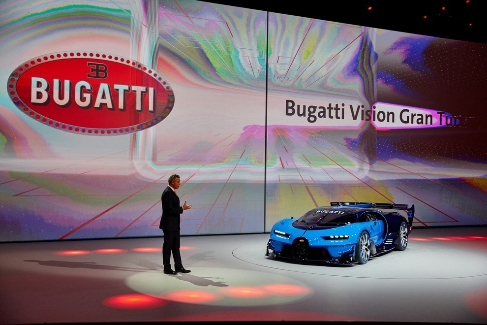 Bugatti Vision Gran Turismo - Foto 4 di 31
