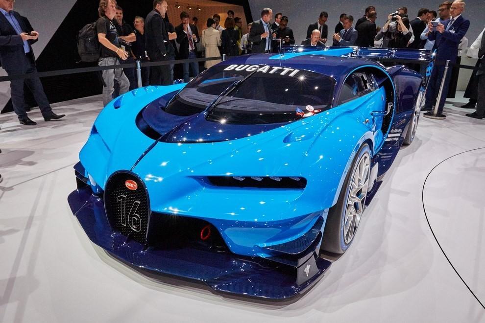 Bugatti Vision Gran Turismo - Foto 7 di 31