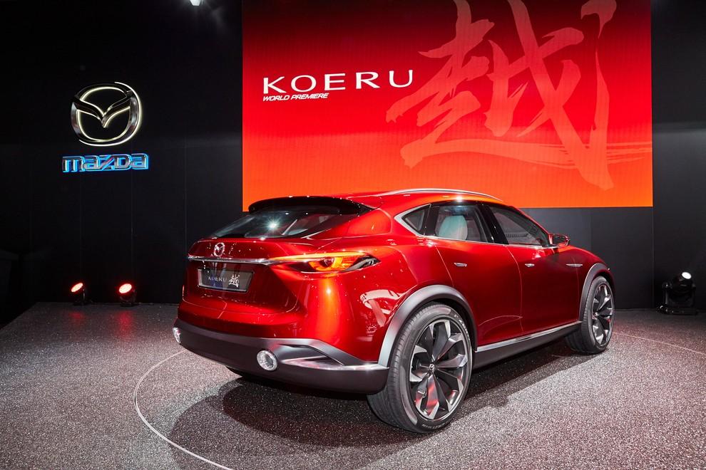 Mazda Koeru Concept - Foto 16 di 17