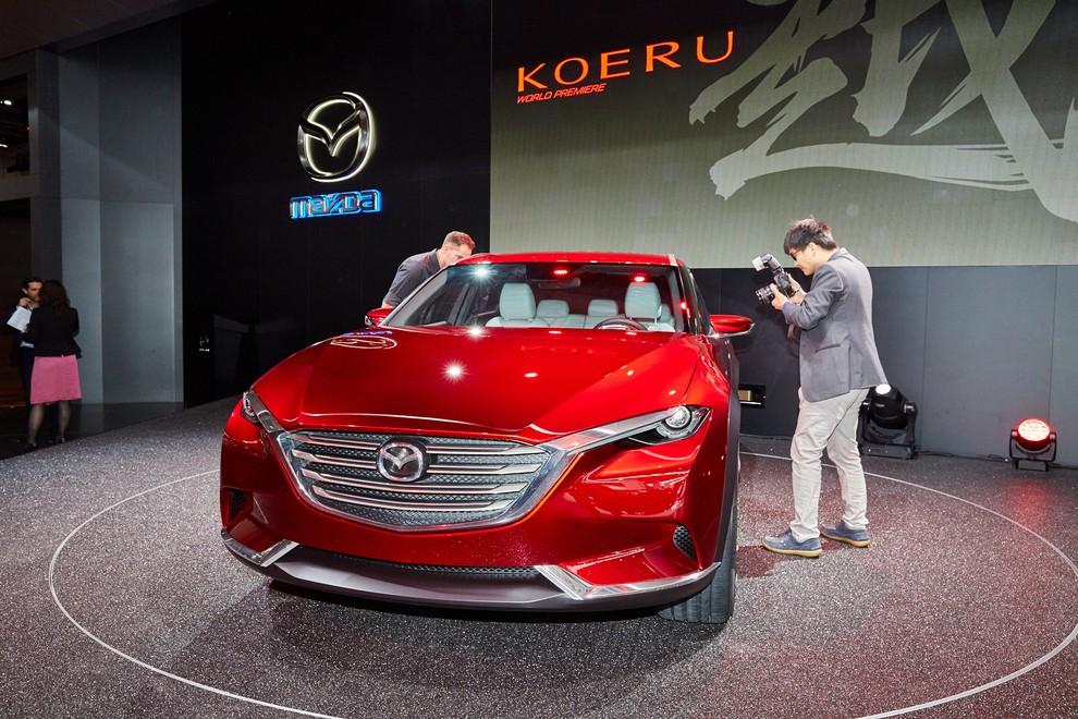 Mazda Koeru Concept - Foto 4 di 17