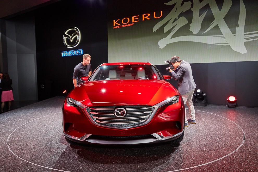 Mazda Koeru Concept - Foto 9 di 17
