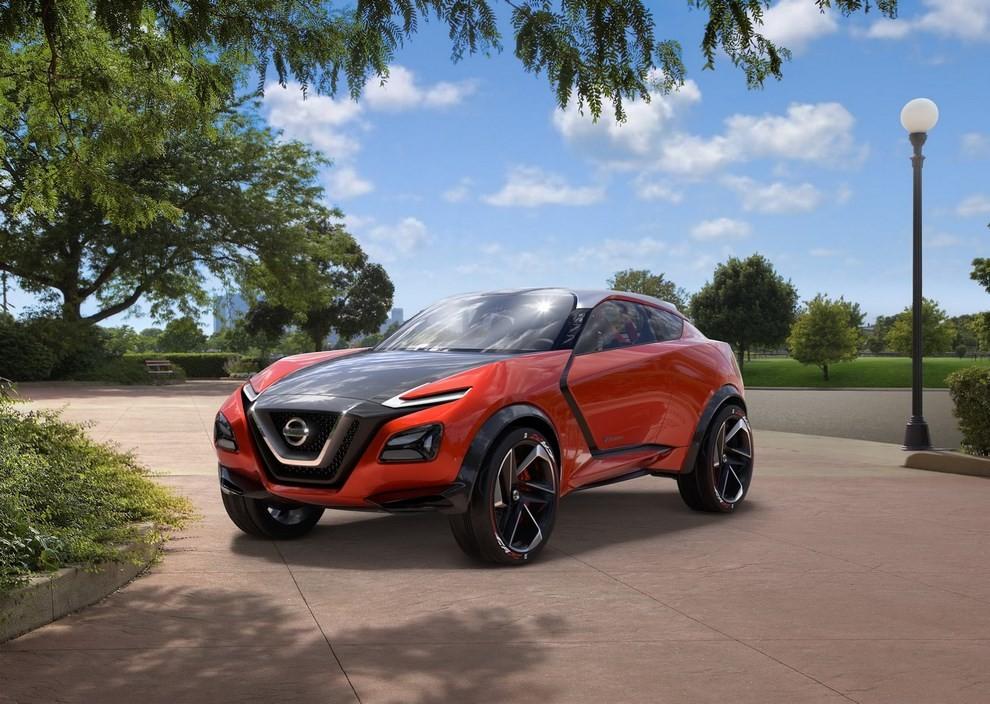 Nissan Gripz Concept, il crossover futuristico - Foto 12 di 14