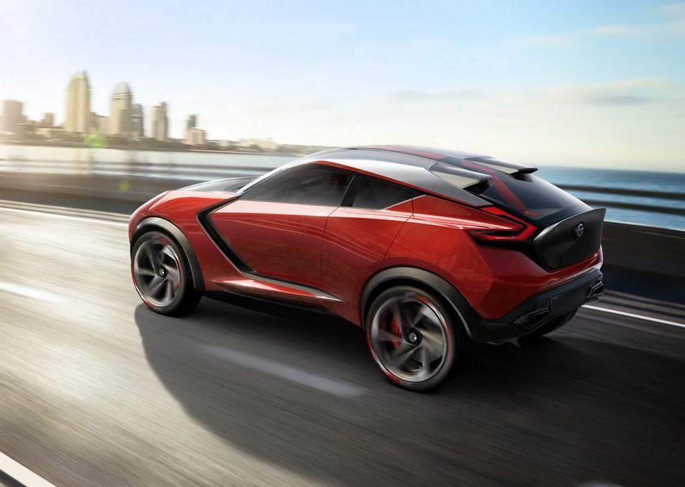 Nissan Gripz Concept, il crossover futuristico - Foto 13 di 14
