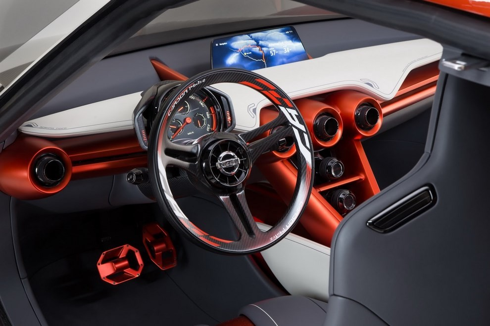 Nissan Gripz Concept, il crossover futuristico - Foto 14 di 14