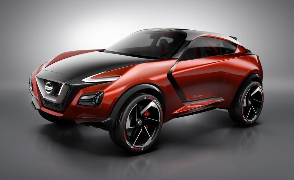 Nissan Gripz Concept, il crossover futuristico - Foto 1 di 14