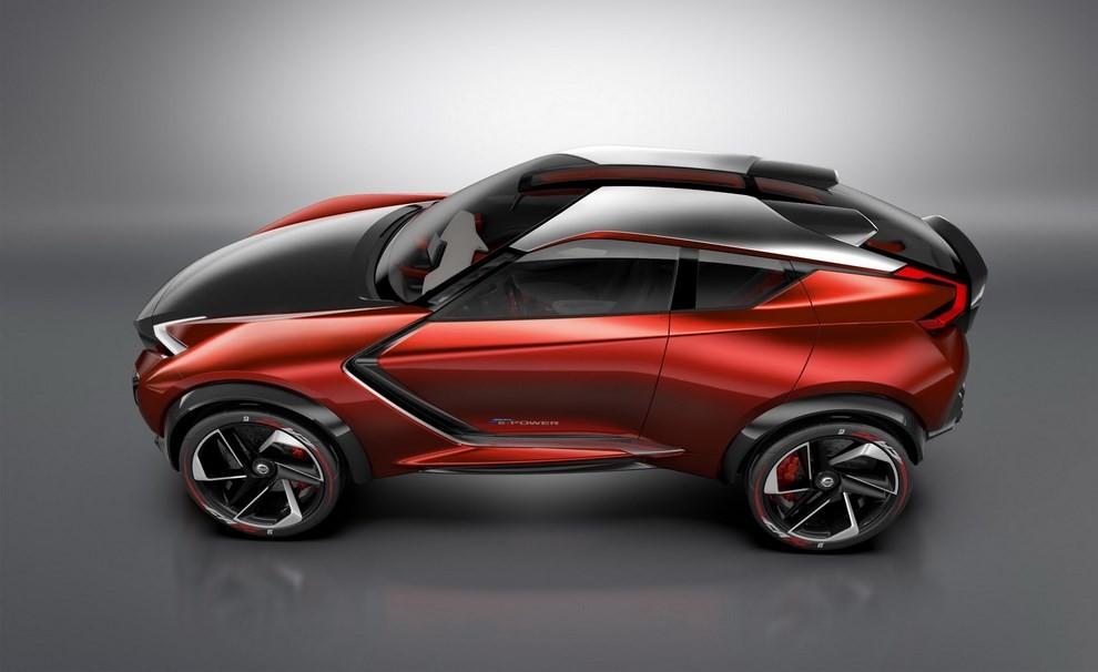 Nissan Gripz Concept, il crossover futuristico - Foto 2 di 14