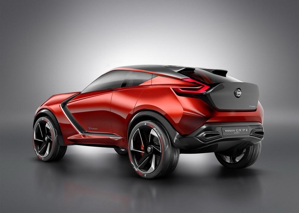 Nissan Gripz Concept, il crossover futuristico - Foto 3 di 14