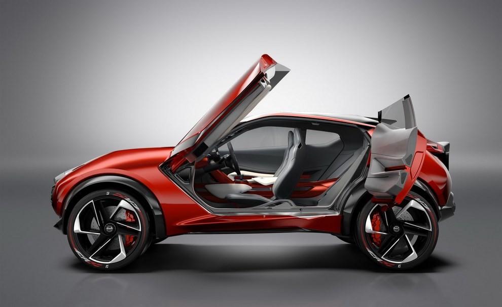 Nissan Gripz Concept, il crossover futuristico - Foto 5 di 14