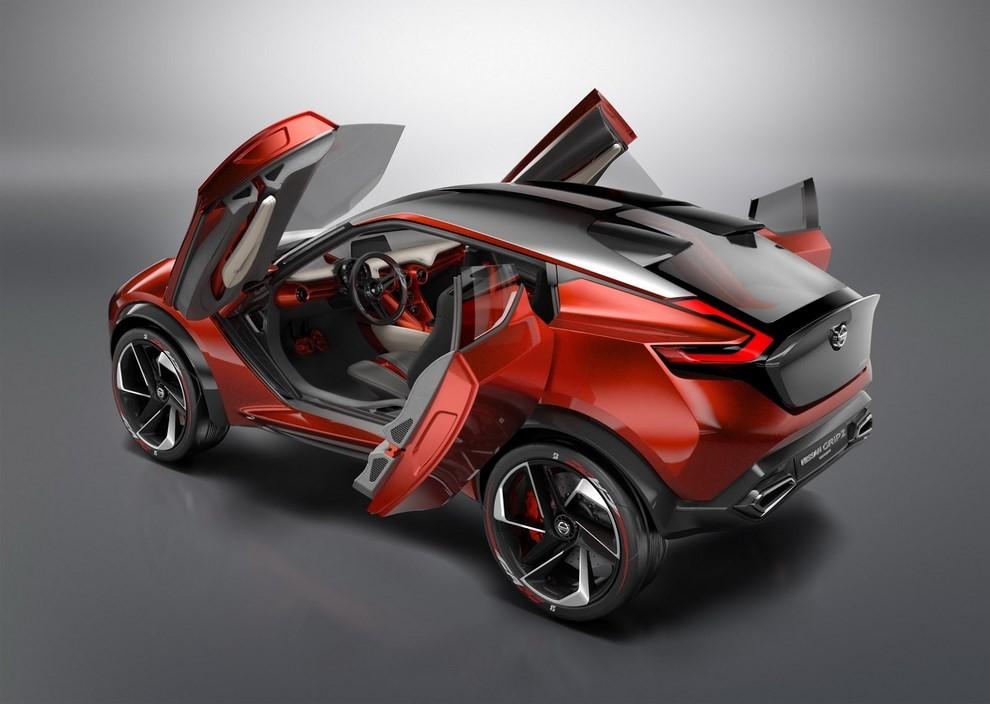 Nissan Gripz Concept, il crossover futuristico - Foto 6 di 14