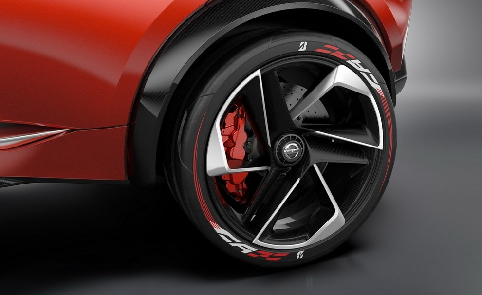 Nissan Gripz Concept, il crossover futuristico - Foto 7 di 14