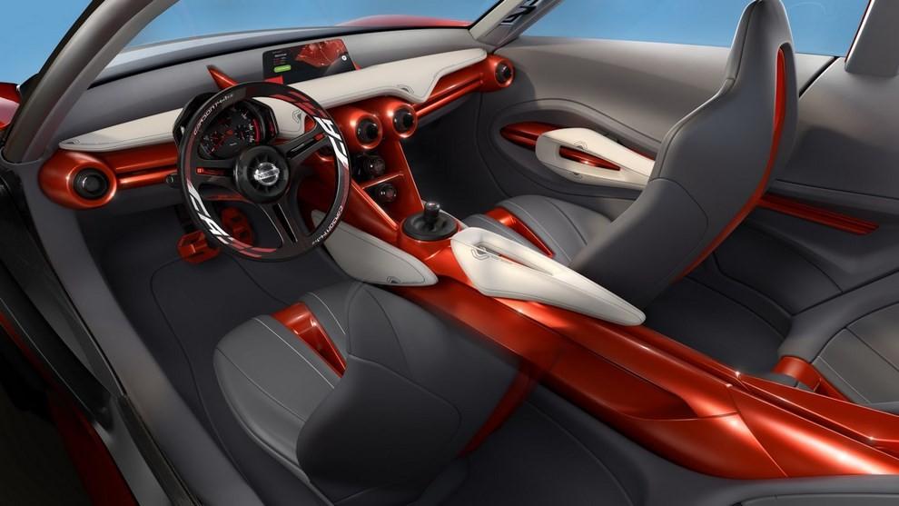 Nissan Gripz Concept, il crossover futuristico - Foto 8 di 14