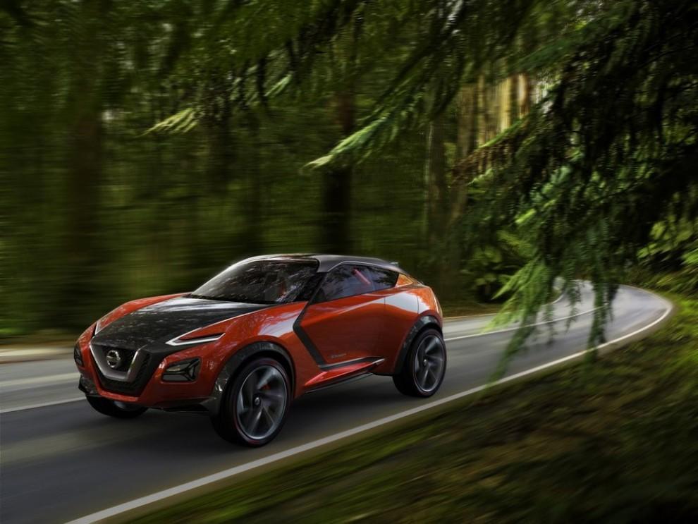 Nissan Gripz Concept, il crossover futuristico - Foto 10 di 14