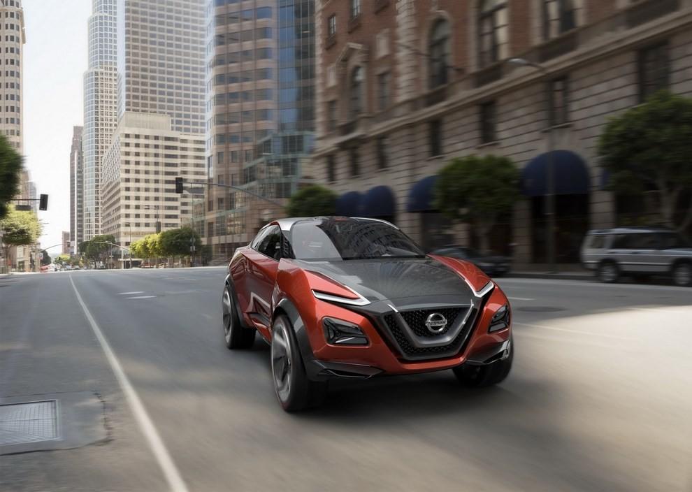 Nissan Gripz Concept, il crossover futuristico - Foto 11 di 14